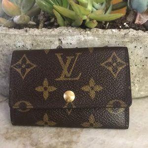Louis Vuitton multicles 6 key holder